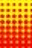 Semitono giallo arancione Fotografie Stock Libere da Diritti