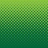 Semitono lineare - verde Fotografie Stock