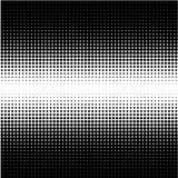 Semitono moderno del progettista dei punti neri su bianco illustrazione vettoriale