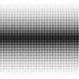 Semitono moderno del progettista dei punti neri su bianco illustrazione di stock