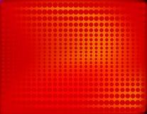 Semitono radiante nel colore rosso Immagini Stock