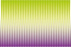 Semitono verde e viola Immagine Stock