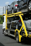 Semitrailer. Road transport. Stock Photography