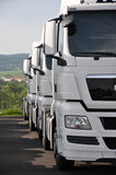 Semitrailer trucks Royalty Free Stock Photo