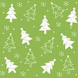 semless圣诞节的模式 免版税库存图片