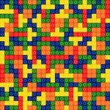 Semless样式tetris 库存照片