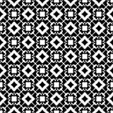 Semless黑色dezine白色后面地面 三角,摘要 免版税库存图片
