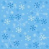 semless χειμώνας προτύπων Στοκ Φωτογραφίες