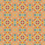 Semless azulejo pattern Royalty Free Stock Image