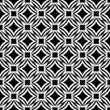 Semless Black dezine White Back ground. Triangles, abstract. Abstract geometric striped triangles seamless pattern in black and white, background royalty free illustration