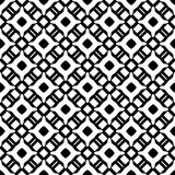 Semless Black dezine White Back ground. Triangles, abstract. Abstract geometric striped triangles seamless pattern in black and white, background Royalty Free Stock Photography