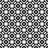 Semless Black dezine White Back ground. Triangles, abstract. Abstract geometric striped triangles seamless pattern in black and white, background Royalty Free Stock Images