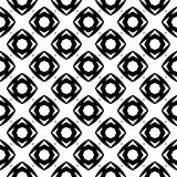 Semless Black dezine White Back ground. Triangles, abstract. Abstract geometric striped triangles seamless pattern in black and white, background Stock Images