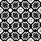 Vector Black White repeat Designs Royalty Free Stock Image