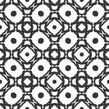 Vector Black White repeat Designs royalty free stock photo