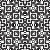 Vector Black White repeat Designs royalty free stock photography