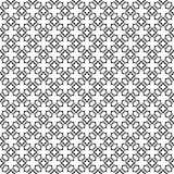 Vector Black White repeat Designs Royalty Free Stock Images