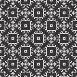 Vector Black White repeat Designs stock image