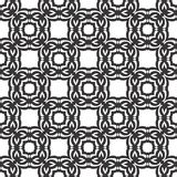Vector Black White repeat Designs royalty free stock photos