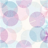 Semless circle pattern Stock Photo