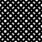 Semless czerni dezine bielu plecy ziemia Trójboki, abstrakt Fotografia Royalty Free