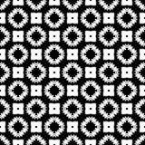 Semless czerni dezine bielu plecy ziemia Trójboki, abstrakt Zdjęcie Stock