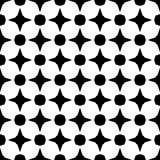 Semless czerni dezine bielu plecy ziemia Trójboki, abstrakt Zdjęcia Royalty Free