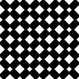 Semless czerni dezine bielu plecy ziemia Trójboki, abstrakt Obrazy Stock