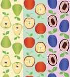 Semless Frucht lizenzfreie abbildung