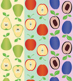 semless frukt Fotografering för Bildbyråer