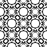 Semless-Schwarzes dezine Weiß-Rückseitenboden Lizenzfreie Stockbilder