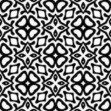Semless-Schwarzes dezine Weiß-Rückseitenboden Stockfoto