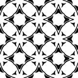 Semless-Schwarzes dezine Weiß-Rückseitenboden stockfotografie