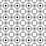 Semless-Schwarzes dezine Weiß-Rückseitenboden lizenzfreie stockfotos