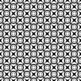 Semless-Schwarzes dezine Weiß-Rückseitenboden Dreiecke, Zusammenfassung Lizenzfreies Stockbild