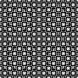 Semless-Schwarzes dezine Weiß-Rückseitenboden Dreiecke, Zusammenfassung Stockfoto