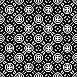Semless-Schwarzes dezine Weiß-Rückseitenboden Dreiecke, Zusammenfassung Lizenzfreie Stockbilder