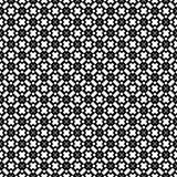 Semless-Schwarzes dezine Weiß-Rückseitenboden Dreiecke, Zusammenfassung Stockbilder