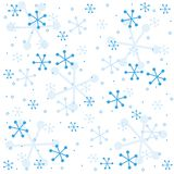 semless vinter för modell Arkivfoto