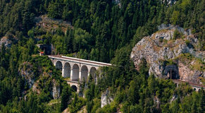 Semmering Bahn viaducts Royalty Free Stock Photo