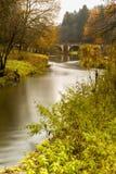 Semois en otoño Fotos de archivo