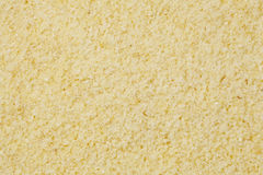 Semolina flour at life-size Stock Photography