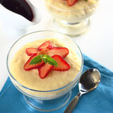 Semolina Pudding Stock Images