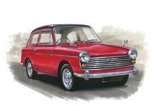 Semoule d'Austin A40 illustration de vecteur