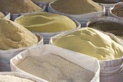 semoule de couscous Image stock