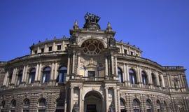 Semper歌剧院,德累斯顿 库存照片