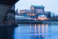 semper оперы дома dresden Германии Стоковые Фото