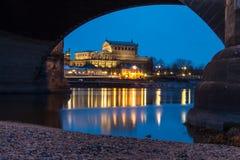semper оперы дома dresden Германии Стоковое Фото