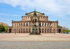 Semper Opera House, Dresden Royalty Free Stock Photos