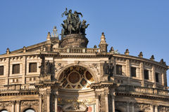 Semper Opera House in Dresden Stock Image
